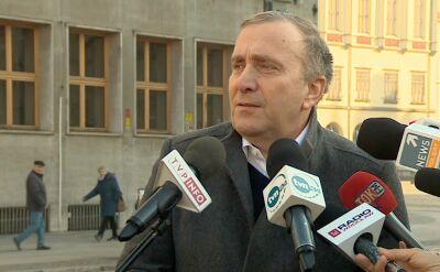 Grzegorz Schetyna o komisji śledczej w sprawie Srebrnej