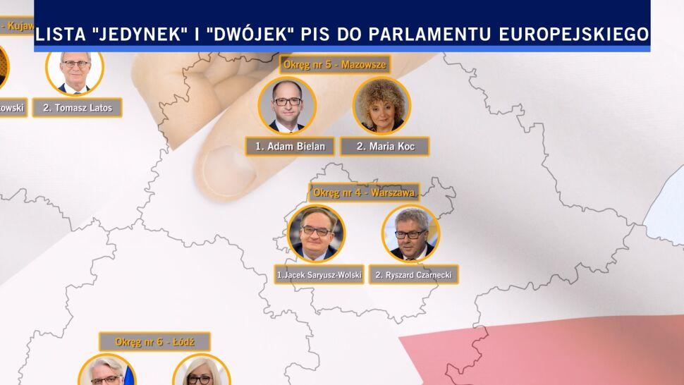 Szydło, Brudziński, Waszczykowski, Mazurek, Zalewska, Kempa. Oni wystartują do europarlamentu