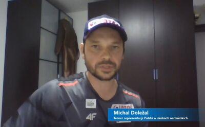 Michal Doleżal o przygotowaniach polskiej kadry do następnego sezonu