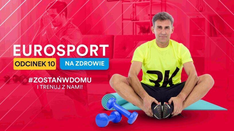 """""""Eurosport - na zdrowie"""". Środowy trening z Robertem Korzeniowskim"""