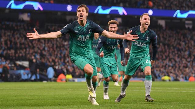Ten mecz przejdzie do historii. Tottenham w półfinale po szaleństwie w Manchesterze