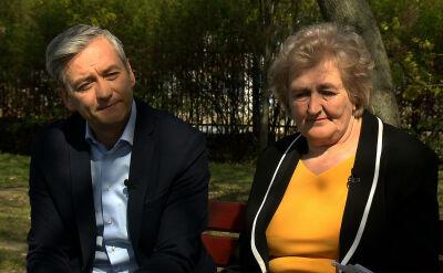"""Helena i Robert Biedroń w """"Faktach po Faktach"""""""