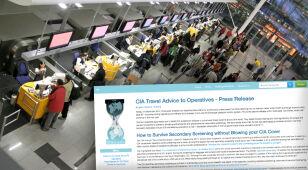WikiLeaks ujawnia tajne dokumenty CIA. Jak przekraczać granice bez dekonspiracji