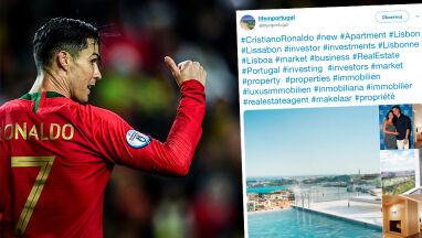 Rekord tym razem poza boiskiem. Ronaldo kupił najdroższy apartament w Lizbonie