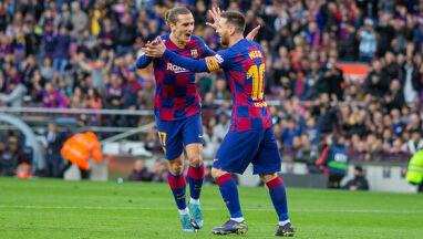 Francuska gwiazda Barcy trzymała kciuki za pozostaniem Messiego