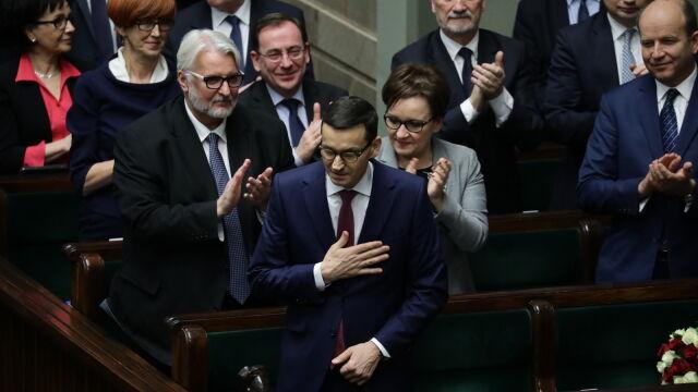 III część expose premiera Mateusza Morawieckiego