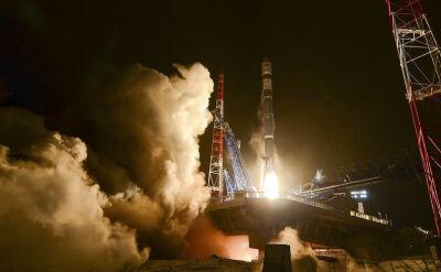 Start nowej rosyjskiej rakiety Sojuz 2.1w