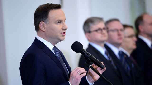 Duda: to decyzje Sejmu są obowiązujące. Piąte ślubowanie w Pałacu Prezydenckim