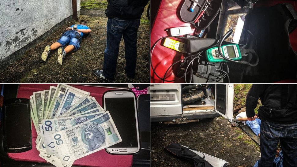 Policyjna obława na złodziei. Kradli wózki inwalidzkie i defibrylatory