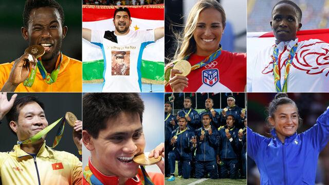Osiem krajów szczególnie zapamięta igrzyska
