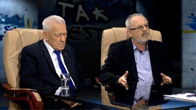 Kornel Morawiecki i Wojciech Martynowicz w Tak jest