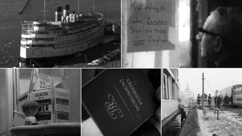 """Marzec '68 w filmie """"Statek"""""""