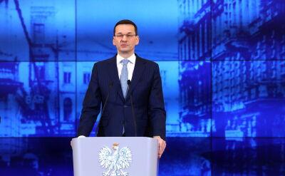 Morawiecki: doniesienia okazały się nieprawdziwe, ktoś został wprowadzony w błąd