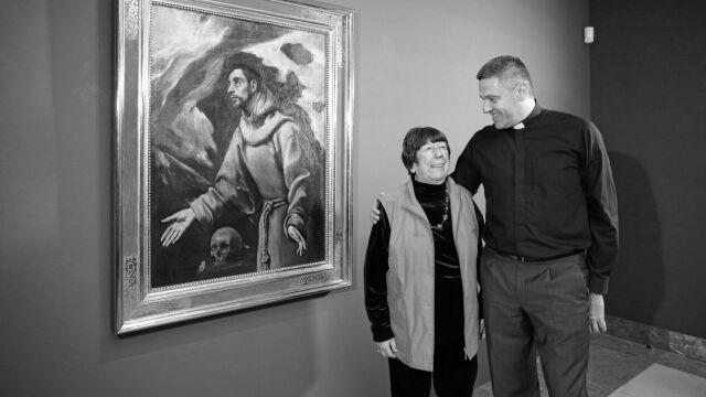 Odkryła obraz El Greca na Podlasiu. Zmarła doktor Izabella Galicka