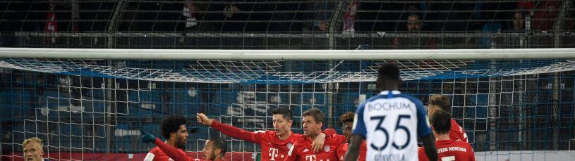 Lewandowski z awansem w Pucharze Niemiec. Drugoligowiec straszył, Bayern uratował się w końcówce