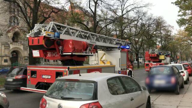 Pożar kamienicy w Szczecinie.  Trzy osoby nie żyją
