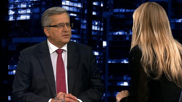Bronisław Komorowski o stosunkach prezydenta z szefem MON