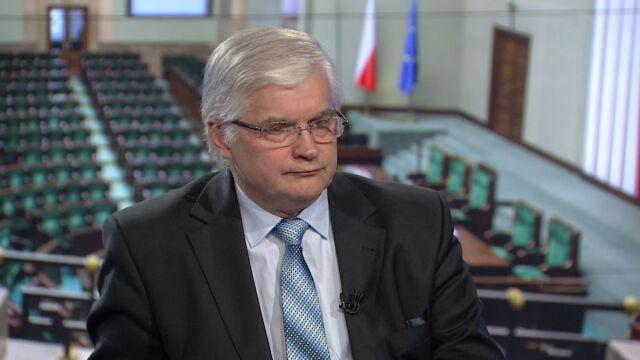 """Włodzimierz Cimoszewicz w """"Faktach po Faktach"""""""