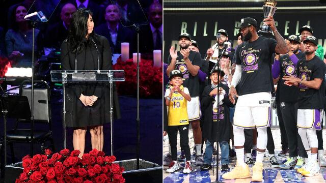 """Poruszający wpis żony Bryanta po mistrzostwie Lakers. """"Kobe miał rację"""""""