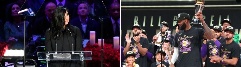 Poruszający wpis żony Bryanta po mistrzostwie Lakers.