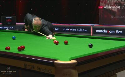 Prowadzenie Higginsa po pierwszej sesji ćwierćfinału English Open