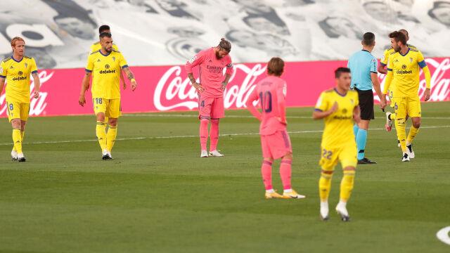"""Blamaż Realu w Madrycie. """"Wrak"""""""