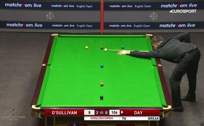 Setka Daya w starciu z O'Sullivanem w 2. rundzie English Open