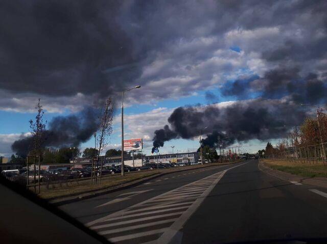 Awaria w PKN Orlen. Dym nad Płockiem