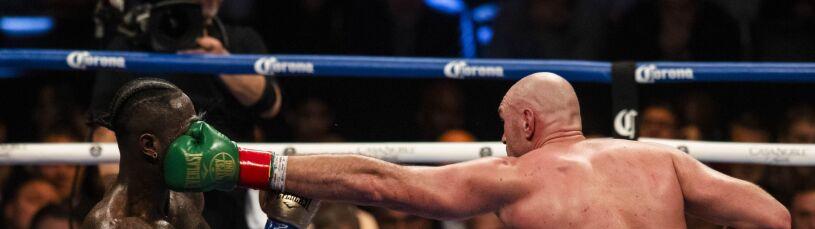 Świat boksu widział zwycięstwo Fury'ego.