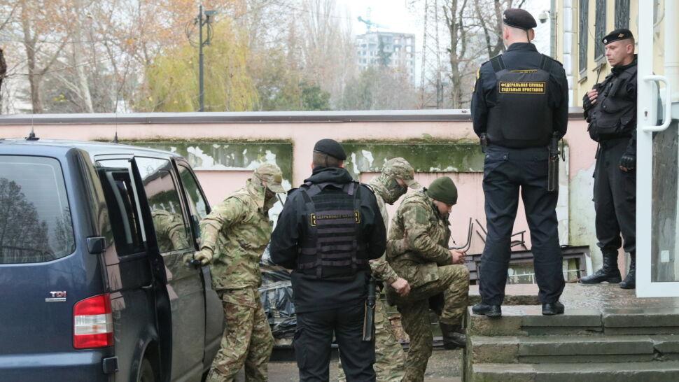 Rosyjski sąd aresztował ukraińskich marynarzy