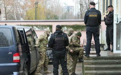 Sąd nakazał aresztowanie ukraińskich marynarzy (wideo z listopada 2018 roku)