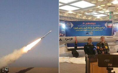 Iran zaprezentował nowy pocisk manewrujący o zasięgu 1300 km