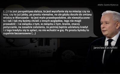 """Taśmy Kaczyńskiego. Fragment 7. """"Po prostu nierealne, no ale gdyby doszło do zmiany władzy w Warszawie"""""""