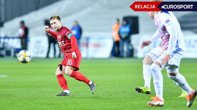 Wisła Kraków pokonana w pierwszym meczu po ligowej przerwie
