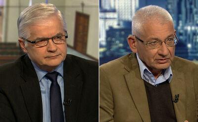 """Włodzimierz Cimoszewicz i Ludwik Dorn w """"Faktach po Faktach"""". Cała rozmowa"""