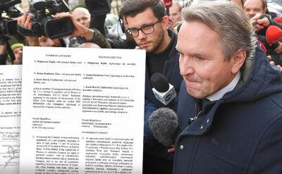 """""""Wyborcza"""" publikuje pełnomocnictwo, które Austriak dostał od Srebrnej"""