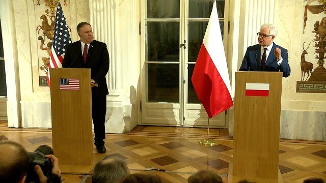 Pompeo: prezydent Trump jest wdzięczny, że Polska wywiązuje się ze zobowiązań