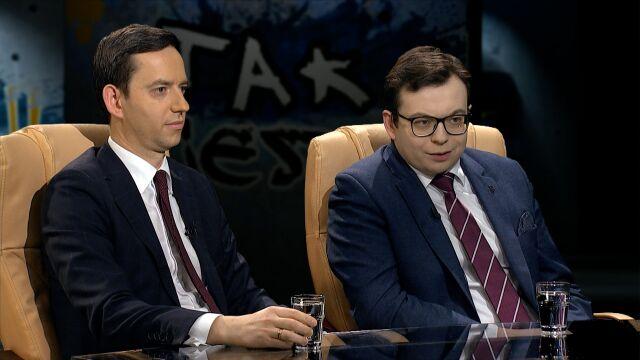 Marcin Ociepa i Jarosław Kaczyński w Tak Jest