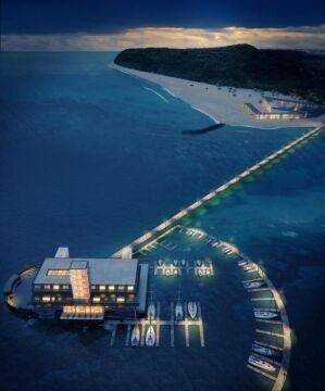Torpedownia jako luksusowy hotel