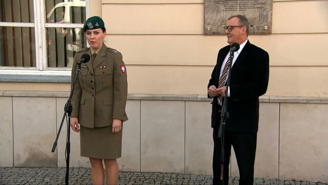 Berczyński zaprosił dziennikarzy na konferencję. Trwała minutę i siedem sekund