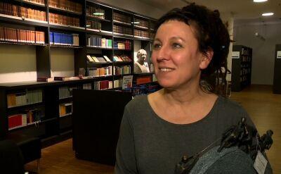 Olga Tokarczuk: poczułam się w lekkiej opresji