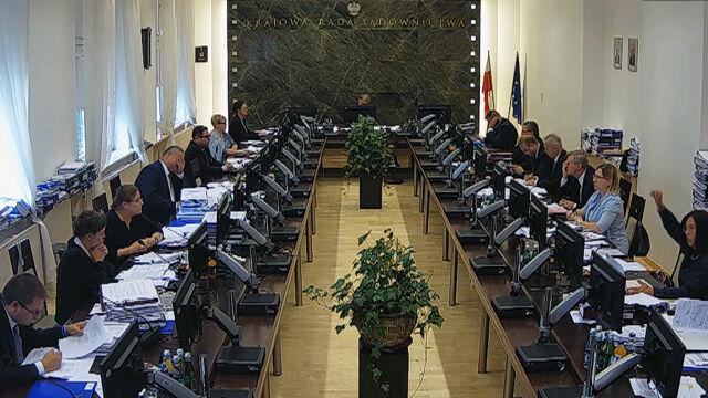 Wystąpienie Krystyny Pawłowicz w sprawie awansu sędziego Świerskiego