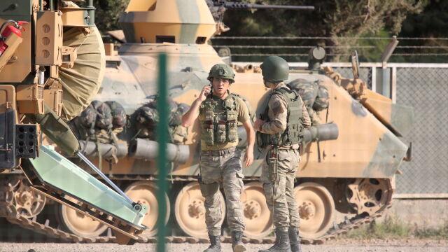 Turcy stracili pierwszego żołnierza w walkach z Kurdami