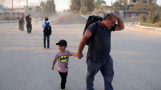 ONZ: turecka ofensywa zmusiła do ucieczki 100 tysięcy ludzi