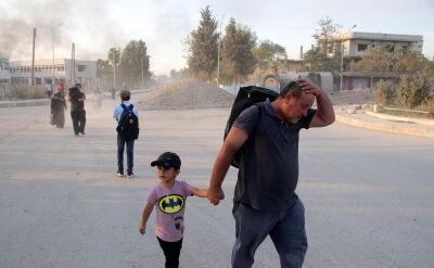 Od początku tureckiego ataku 100 tys. mieszkańców północnej Syrii porzuciło swe domy
