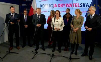 Kidawa-Błońska o Izabeli Leszczynie: siła argumentów Izy i jej charakter pokazują, że kobiety powinny w tych wyborach dać radę