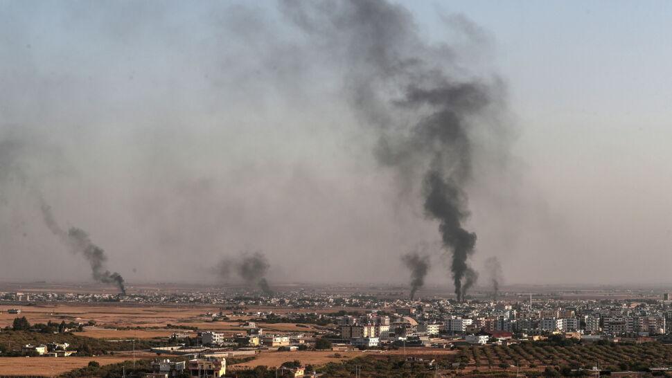 """Kilka wsi """"wyzwolonych"""", zbombardowane miasta. Turcy atakują w Syrii"""