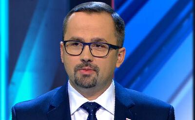 Artykuł 180 konstytucji przywołał na debacie wyborczej Marcin Horała z PiS