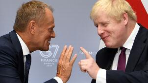 Tusk pyta Johnsona: quo vadis?