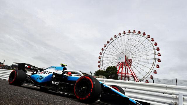 Kwalifikacje Formuły 1 przeniesione. Kubica już po treningach